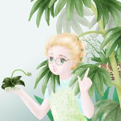 嘘の植物群^^;