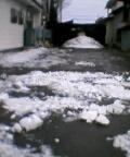恒例氷割り