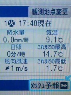 暖かすぎ2
