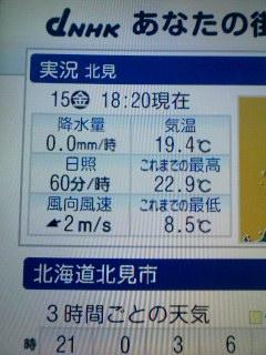 今日の気温