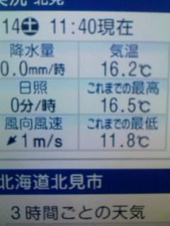 低温注意報
